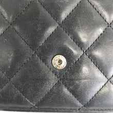 Load image into Gallery viewer, Chanel Wallet on Chain Cambon Quilted Ligne Black Lambskin Leather Bag