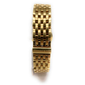 Tiffany & Co 18K Yellow Gold Mark Coupe Ladies Watch