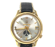 Load image into Gallery viewer, Accutron Bulova Men's 10k Gold Electroplate Watch