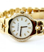 Load image into Gallery viewer, Tiffany & Co. 18K Yellow Gold Diamond Tesoro Women's Watch