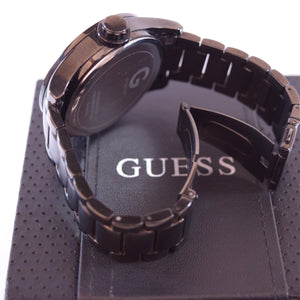Guess Black Stainless Steel with Tachymeter Watch