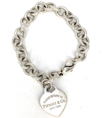 c7cd79324 Tiffany & Co. Sterling Silver Return To Tiffany Heart Tag Bracelet