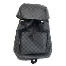 Load image into Gallery viewer, LOUIS VUITTON Damier Graphite Canvas Zack Backpack N40005 Bag