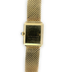 Vintage Concord 14K Yellow Gold & Diamond Ladies Watch
