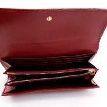 Load image into Gallery viewer, Bvlagri Red Alligator Leather Wallet