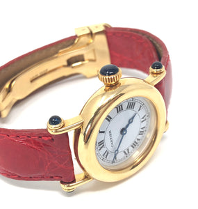 Cartier Diablo 1440 18K Yellow Gold Ladies Watch