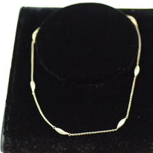 Load image into Gallery viewer, Sterling Silver Custom Made Teardrop Bead Chain Necklace