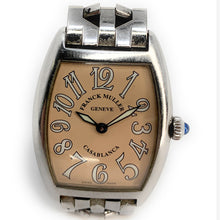 Load image into Gallery viewer, Franck Muller Casablanca Stainless Steel Salmon Dial Men's Watch