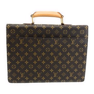 Louis Vuitton Monogram Serviette Conseiller Briefcase Travel Bag