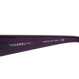 Authentic Chanel Sunglasses Model 5025 Purple Frame Rx Prescription