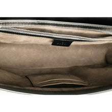 Load image into Gallery viewer, Gucci Guccissima Signature Leather Medium Messenger Bag Black