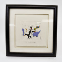 "Load image into Gallery viewer, Warner Bros ""Just One More"" Sylvester and Tweety Etching, 1995 Limited Edition"