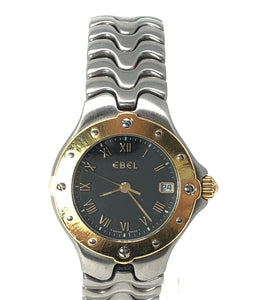 Ebel Sportwave Two Tone Watch Gold / Silver Tone