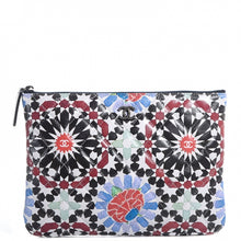 Load image into Gallery viewer, CHANEL Coated Canvas Paris Dubai Medium Cosmetic Case Multicolor