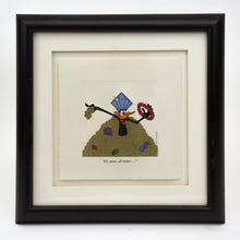 "Load image into Gallery viewer, Warner Bros 1995 ""It's Mine, All Mine"" Daffy Duck Etching Print"