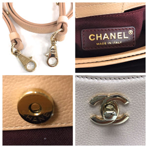 Chanel Mini Grained Calfskin Neo Executive Tote
