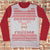 Ohh Fudge Ralphie Dark Ugly Christmas Style Long Sleeve - Christmas Story Movie Shirt