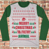 Merry Christmas Ya Filthy Animal Ugly Christmas Style Long Sleeve - Home Alone Movie Christmas Shirt