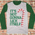 It's Not Gonna Lick Itself Ugly Christmas Style Long Sleeve - Naughty Christmas Shirt
