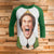 Buddy The Elf 3/4 Sleeve Raglan - Elf Movie Christmas Shirt