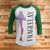 Christmas Story Frageelay 3/4 Sleeve Raglan - Christmas Story Movie Shirt