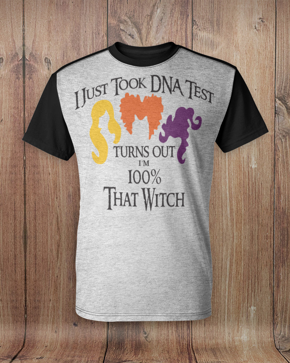 DNA Test 100% That Witch All Over Print T-Shirt