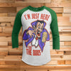Drac Here for the Boos All Over Print 3/4 Sleeve Raglan