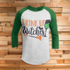 Drink Up Witches All Over Print 3/4 Sleeve Raglan