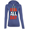 4th of July_USA all day Anvil Ladies' Long Sleeve T-Shirt Hoodie