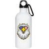 Patriotic - Eagle and Shades 20 oz. Stainless Steel Water Bottle