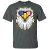 Patriotic - Eagle and Shades Gildan Ultra Cotton T-Shirt