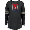 4th of July_Bomb Pops and Jello Shots Holloway Ladies Hooded Low Key Pullover