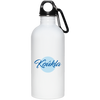 Greek Pride - Beautiful Koukla 20 oz. Stainless Steel Water Bottle