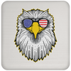 Patriotic - Eagle and Shades Coaster