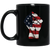 Patriotic - Flag Fist 11 oz. Black Mug