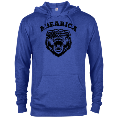 Patriotic - Abearica Delta French Terry Hoodie