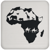 African Pride - African Continent Coaster