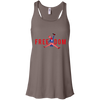 4th of July_FREEDOM Bella + Canvas Flowy Racerback Tank
