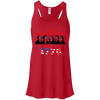 4th of July_Let's Political Party like it's 1776 Bella + Canvas Flowy Racerback Tank