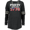 4th of July_Party like its 1776 Holloway Ladies Hooded Low Key Pullover