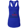 4th of July_Red White and Buzzed Next Level Ladies Ideal Racerback Tank