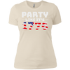 4th of July_Party like its 1776 Next Level Ladies' Boyfriend T-Shirt