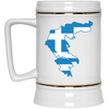 Greek Pride - Greece Greek Flag Beer Stein 22oz.