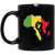 African Pride - Power Fist 11 oz. Black Mug