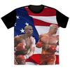 Politics - Cory Booker punching Trump All Over Print T-Shirt