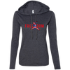 4th of July_FREEDOM Anvil Ladies' Long Sleeve T-Shirt Hoodie