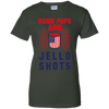 4th of July_Bomb Pops and Jello Shots Gildan Ladies' 100% Cotton T-Shirt