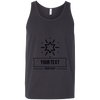 Personalized Custom Layout - Star Bella + Canvas Unisex Tank