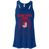 4th of July_Bomb Pops and Jello Shots Bella + Canvas Flowy Racerback Tank