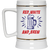 Patriotic - red white and brew Beer Stein 22oz.